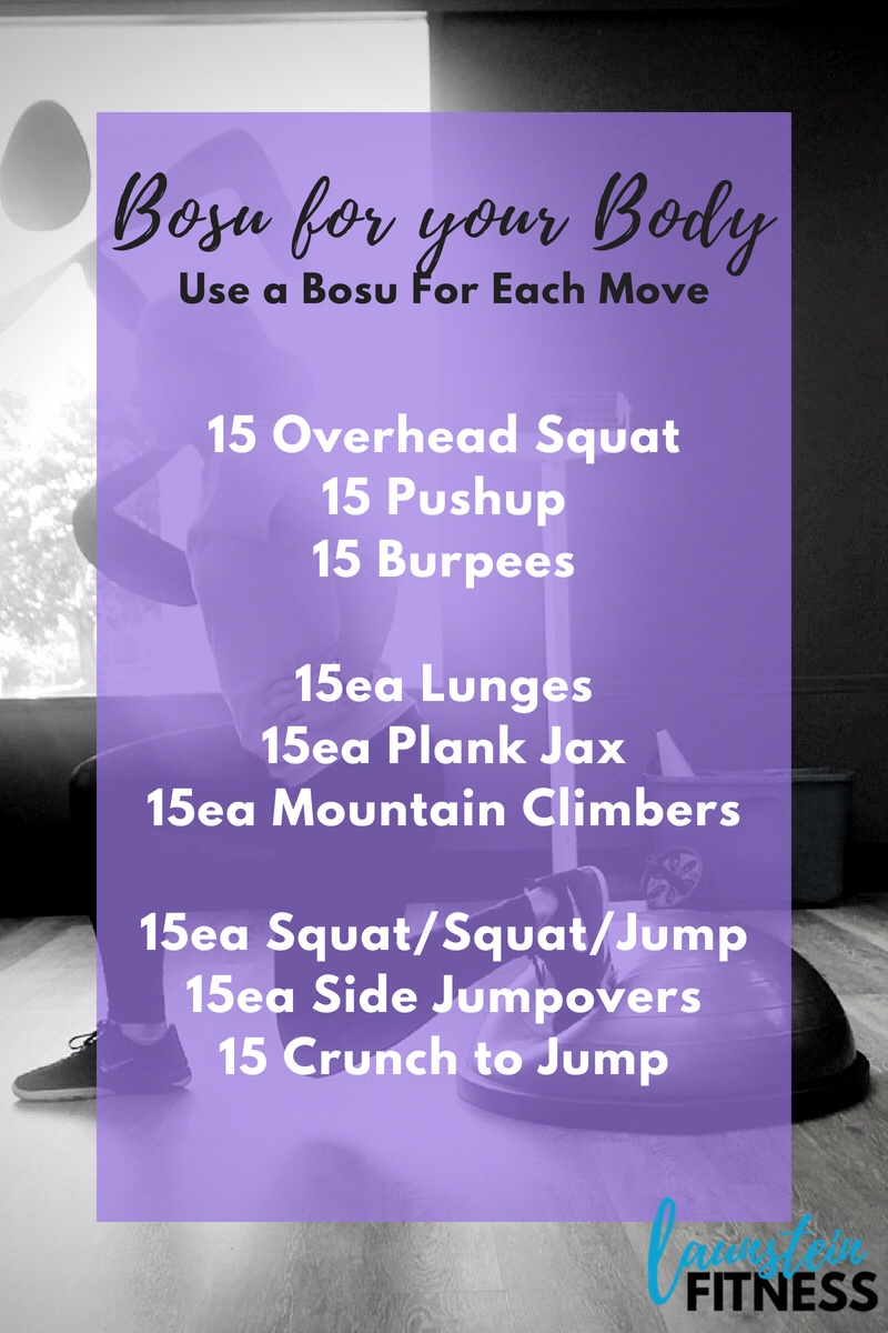 Bosu for Your Body – Amber Launstein